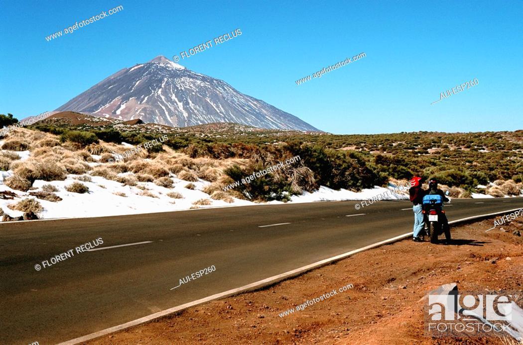Stock Photo: Spain - Canary Islands - Tenerife - Reide  3718 m.