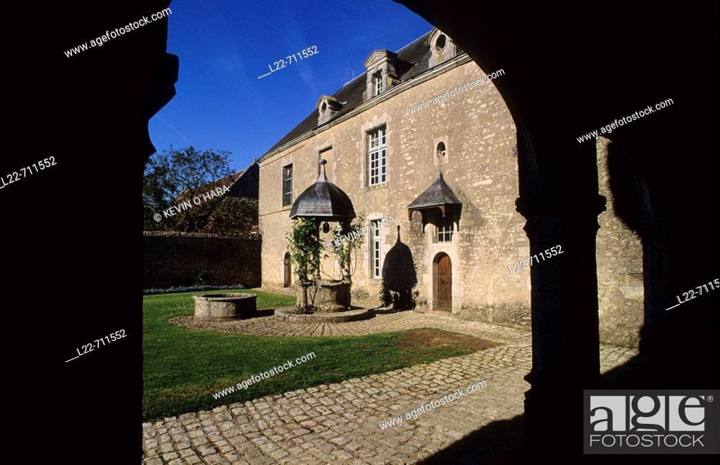 Stock Photo: Castle of Talcy. Loir-et-Cher. Centre region. France.