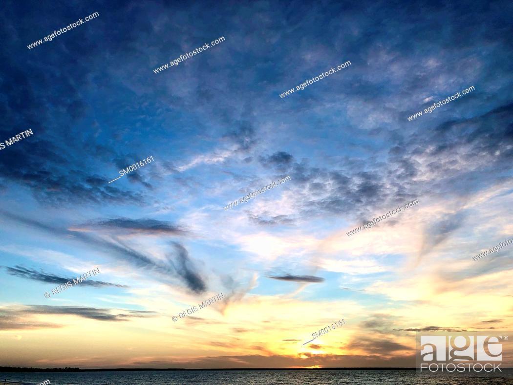 Stock Photo: sunset at Vestey's Beach in Darwin Australia.