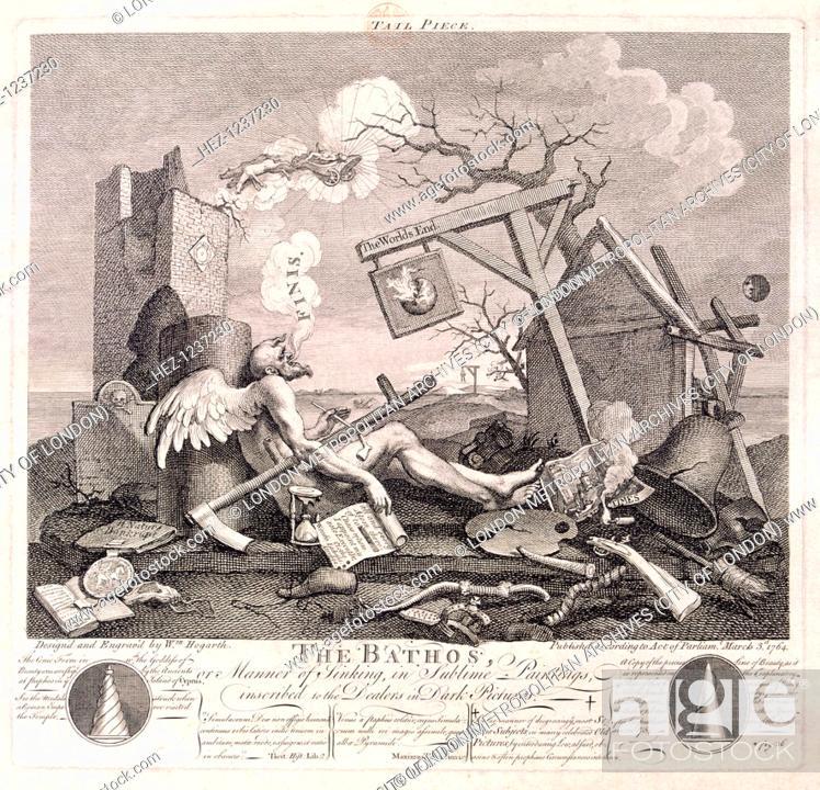 The Bathos', 1764