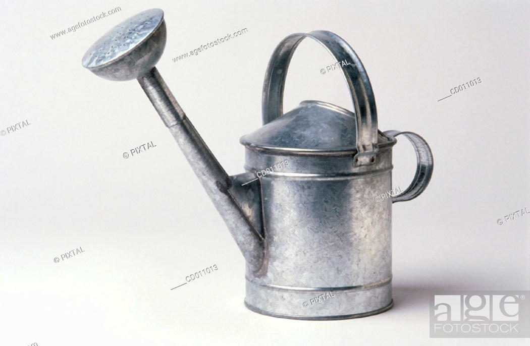 Stock Photo: Watering can.