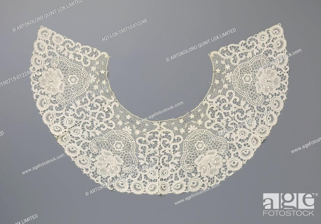 Machined Lace Collar With Four Inverted Flower Pots With Fan Flower Stock Photo Picture And Rights Managed Image Pic Aqt Lck 190715 012248 Agefotostock