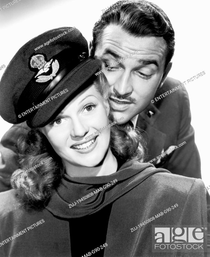Stock Photo: RELEASED: Jan 9, 1945 - Original Film Title: Tonight and Every Night. PICTURED: RITA HAYWORTH, LEE BOWMAN. (Credit Image: © Entertainment Pictures/Entertainment.