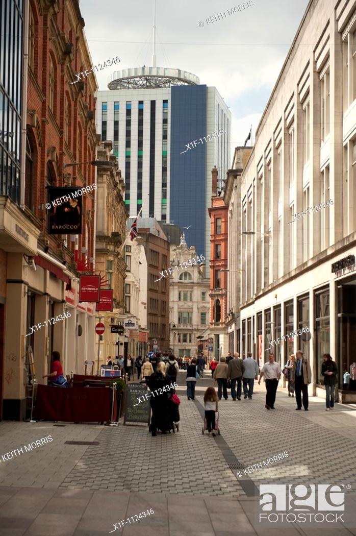 Stock Photo: Cardiff city, Wales UK.