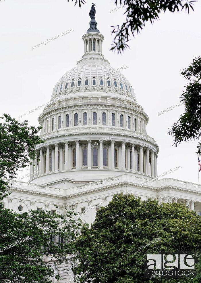 Imagen: USA : Capitol in Washington , 21.05.2017 - Washington, District of Columbia, USA, 21/05/2017.