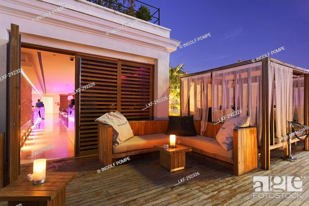 Terrace Of The Penthouse Bar Terraza Lounge Bar Hotel Me