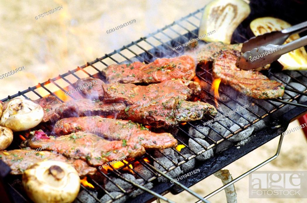 Stock Photo: Bbarbecue.
