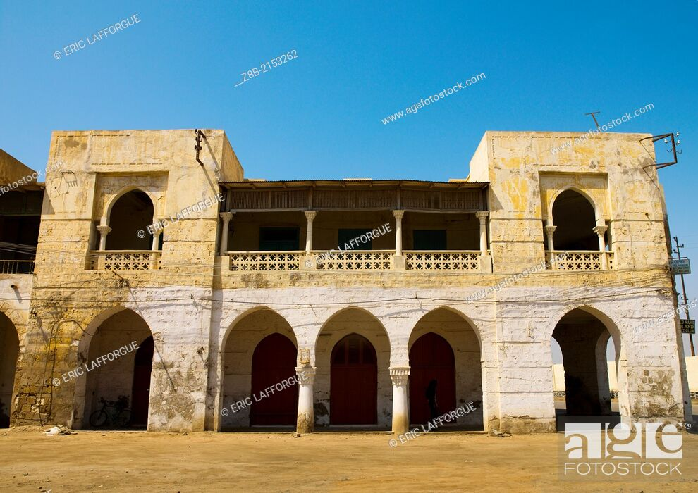 Stock Photo: Massawa, also known as Mitsiwa or Massaoua is a port city on the Red Sea coast of Eritrea, important for many centuries, it has been colonised by Egypt.