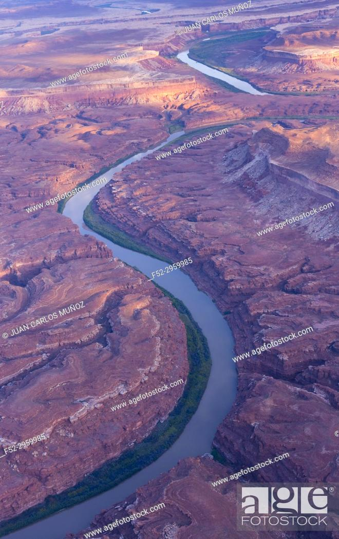Imagen: Green river, Canyonlands National Park, Utah, USA, America.