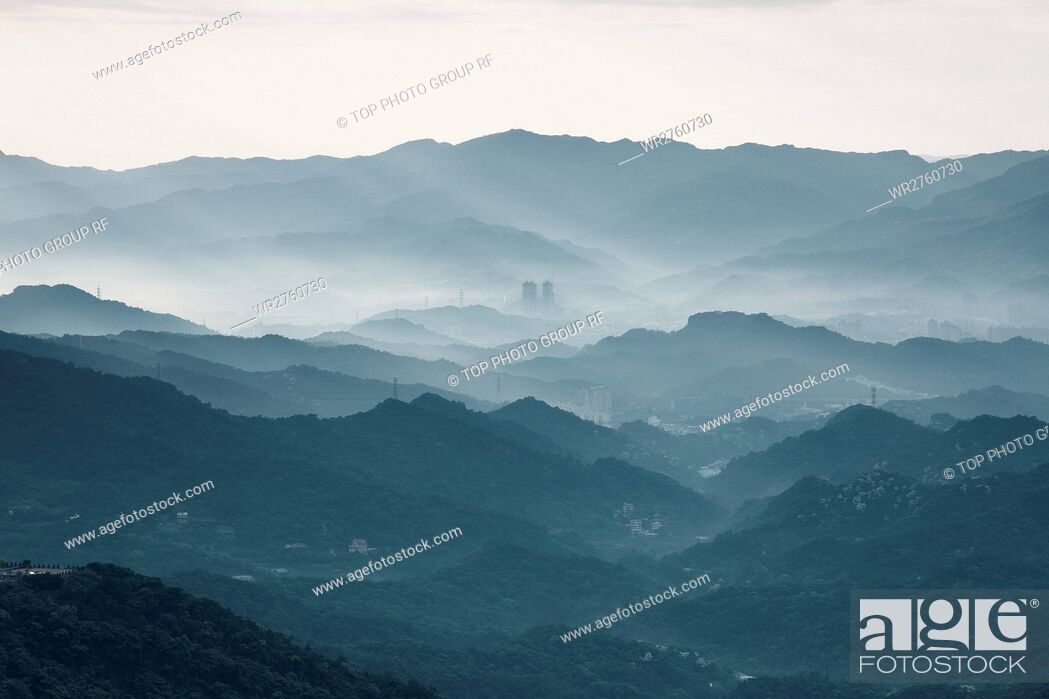 Stock Photo: Mountain Mist.