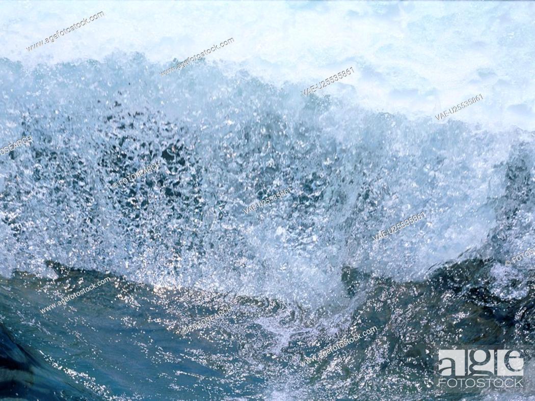 Stock Photo: Splashing Waterfall.
