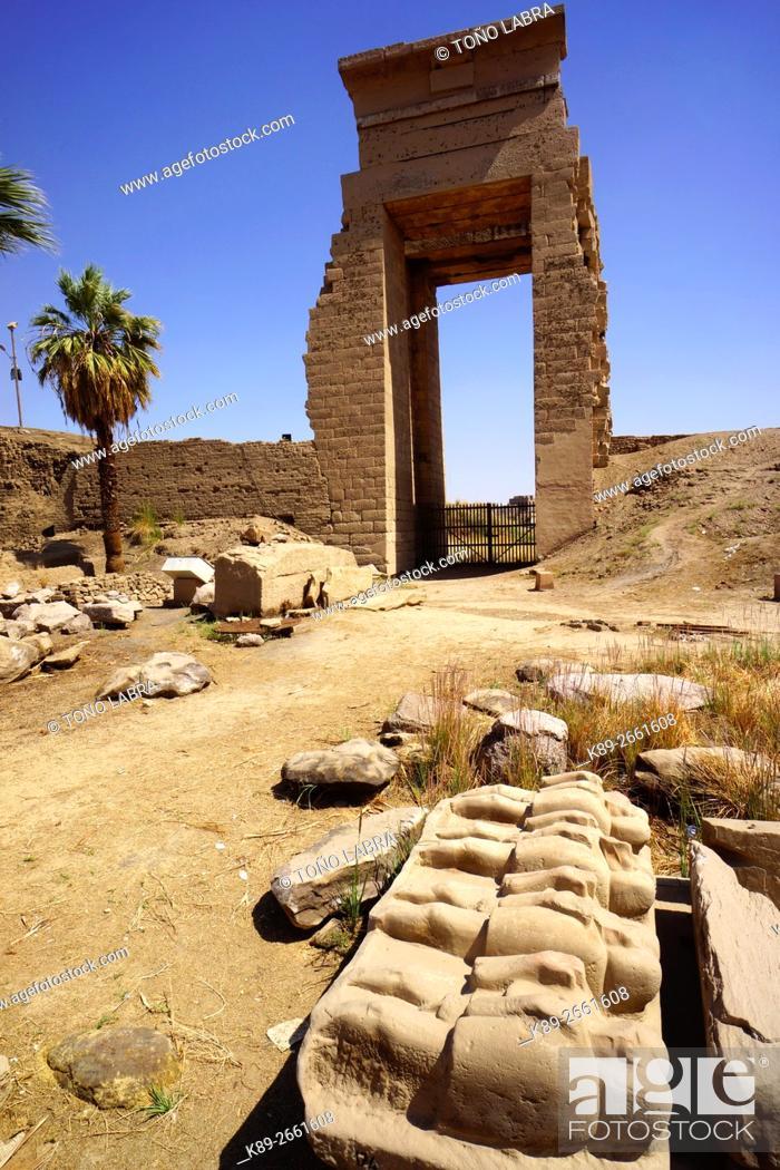 Stock Photo: Karnak Temple. Upper Egypt.