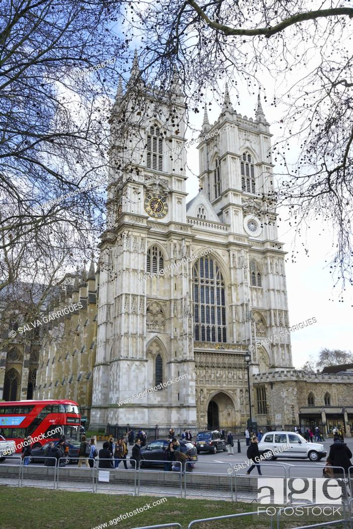 Imagen: Westminster Abbey or Collegiate Church of St. Peter of Westminster, London.