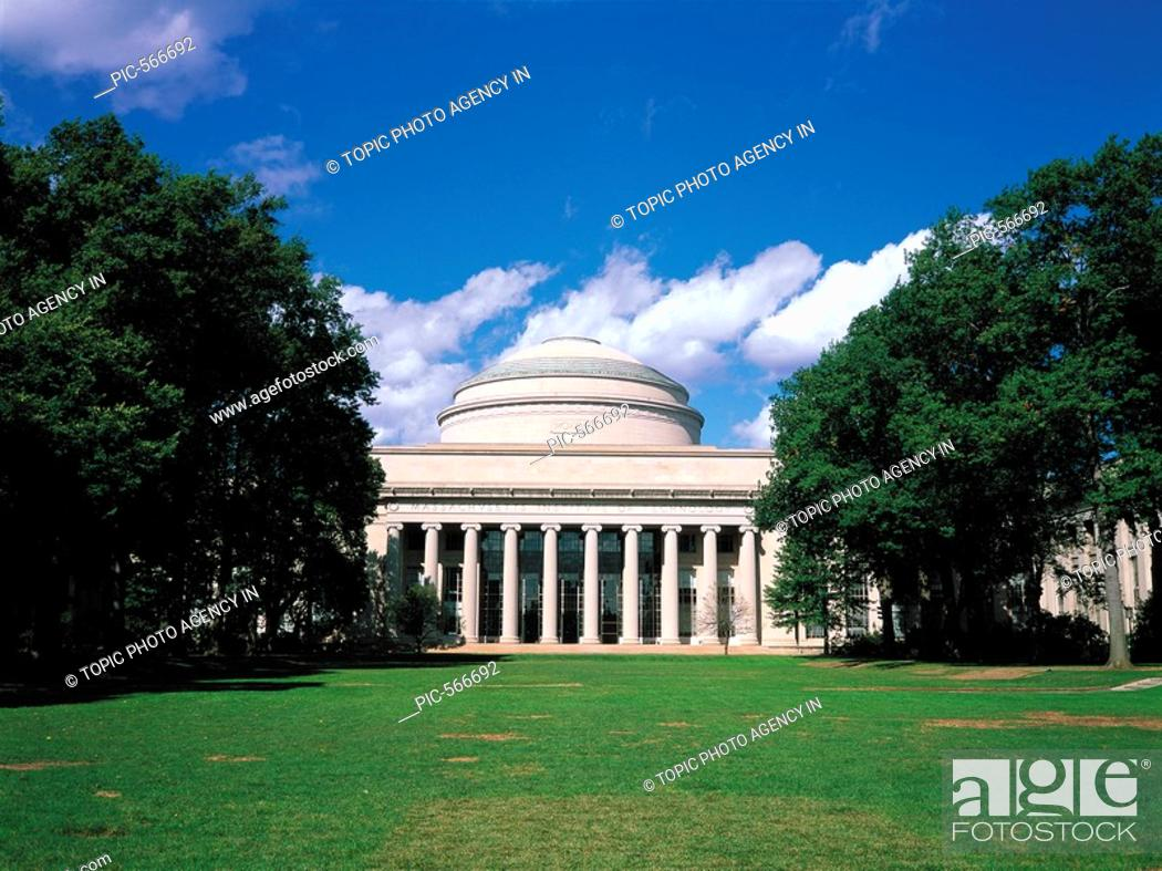 Stock Photo: MIT,Boston,Massachusetts,USA.