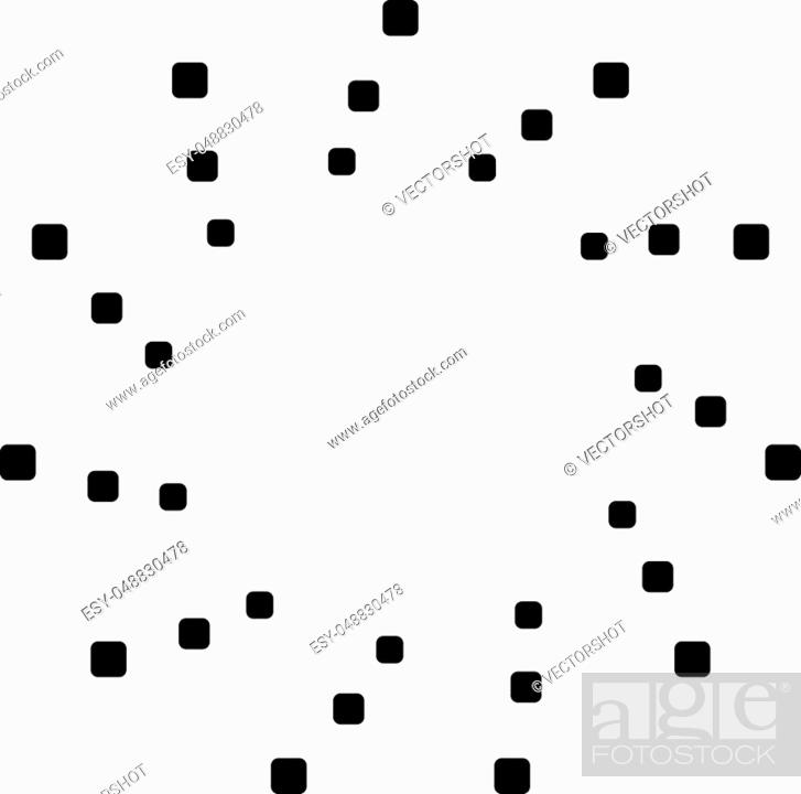 Stock Vector: Circular geometric motif. Abstract grayscale op-art element.