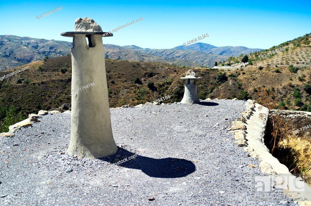 Stock Photo: Cástaras, Alpujarras, Granada, Andalusia, Spain.