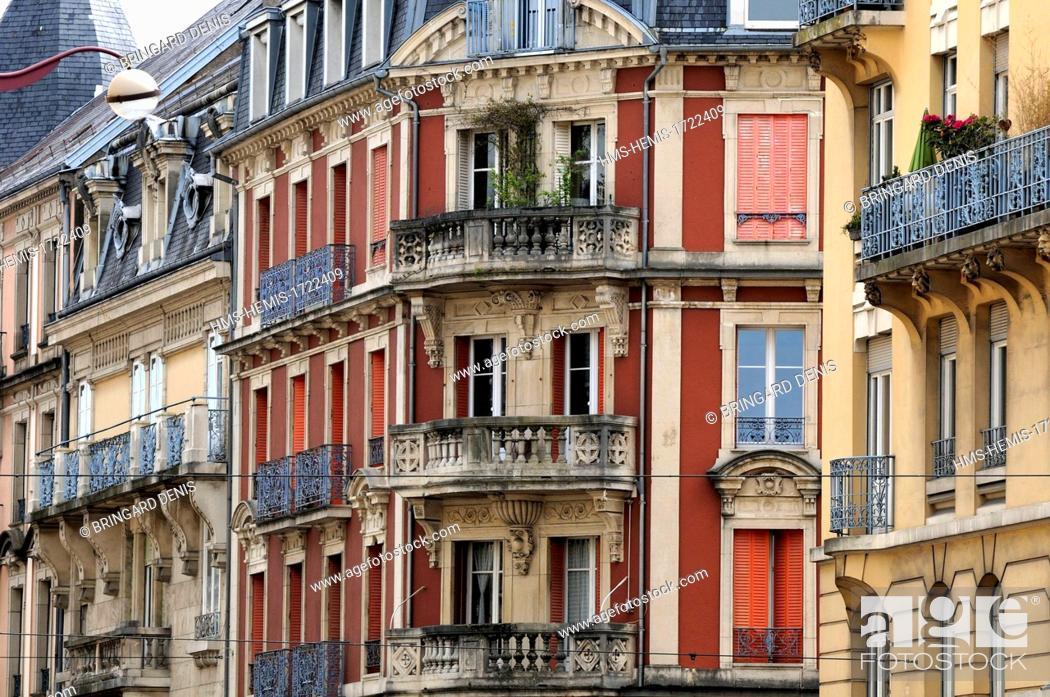 France Territoire De Belfort Belfort Carnot Avenue Buildings