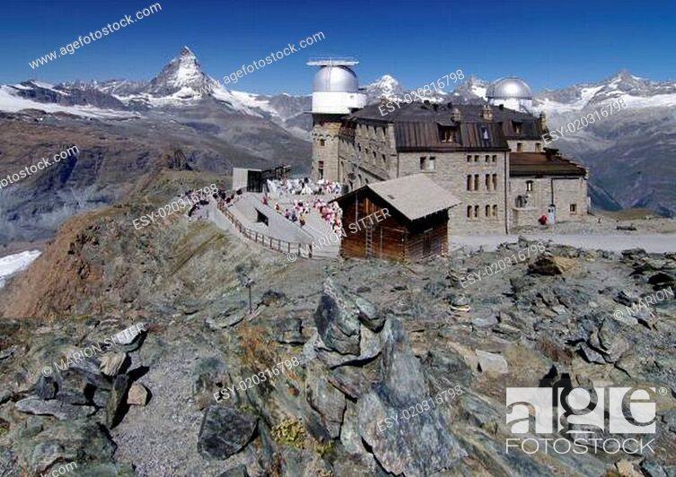 Stock Photo: Zermatt - Matterhorn - Gornergrat.