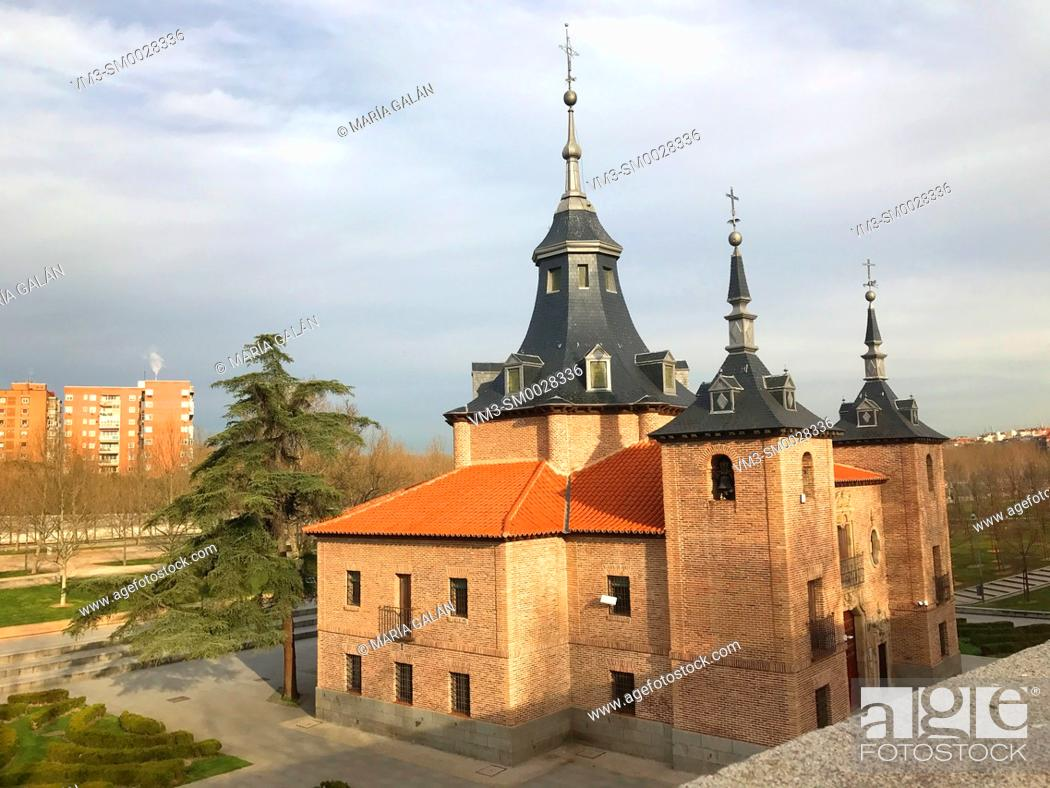 Stock Photo: Virgen del Puerto church. Madrid, Spain.