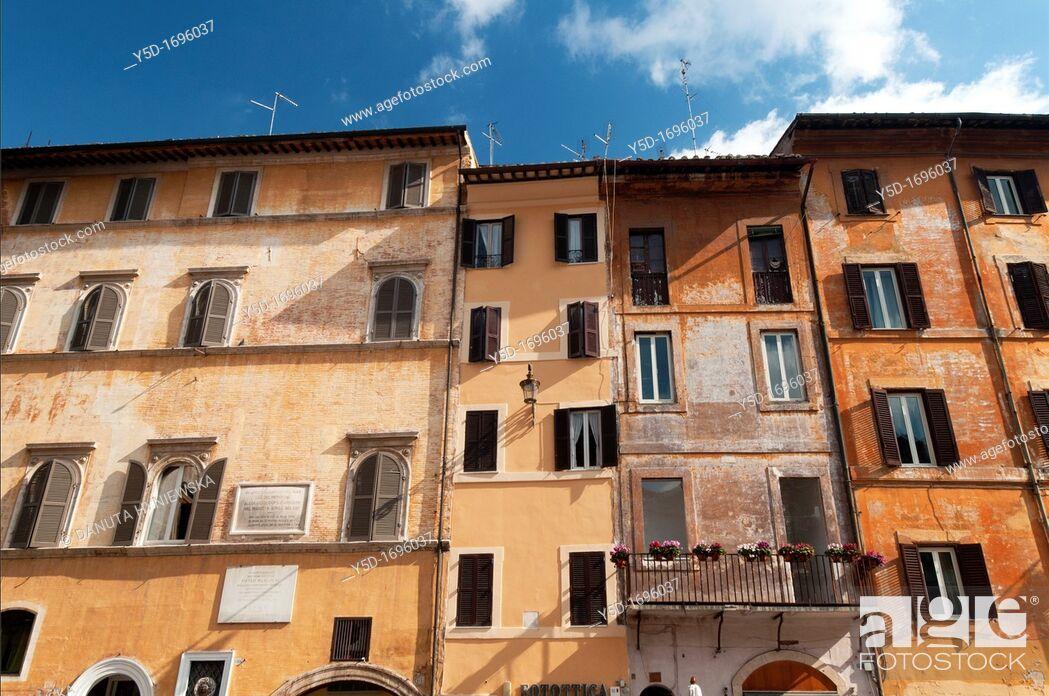Stock Photo: Piazza Della Rotonda, Rome, Italy, Europe.