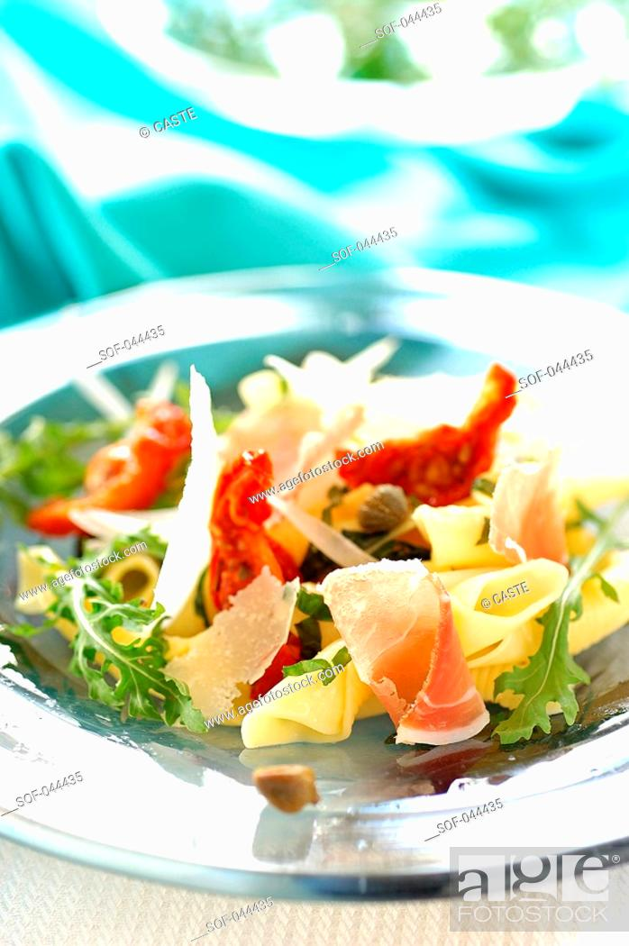 Stock Photo: italian salad.