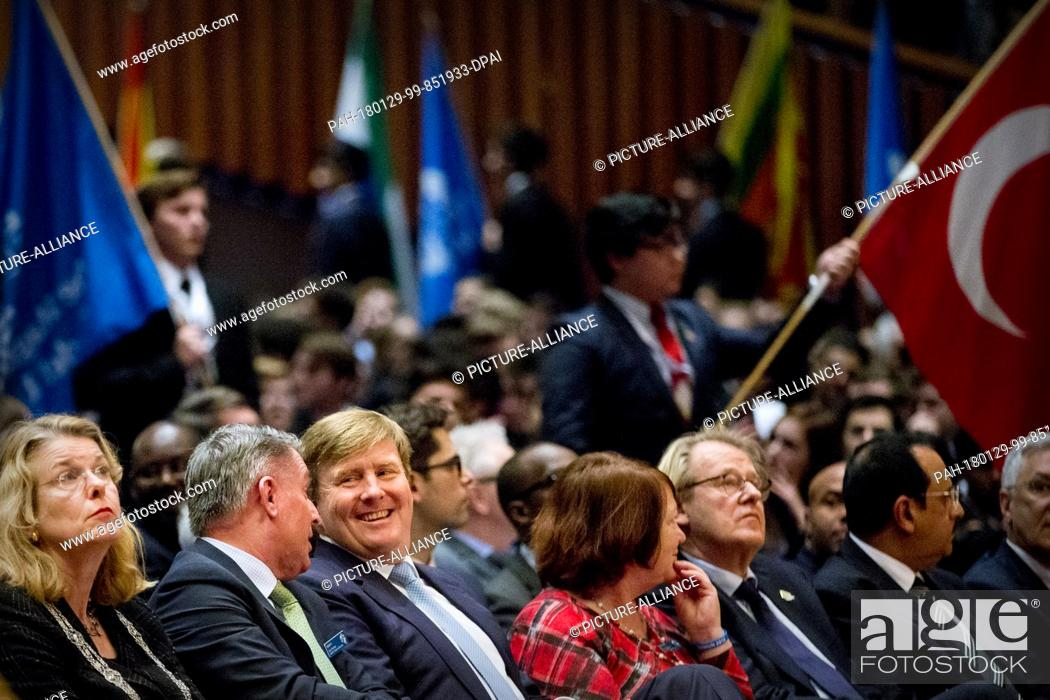 King Willem-Alexander of The Netherlands opens the 50th The