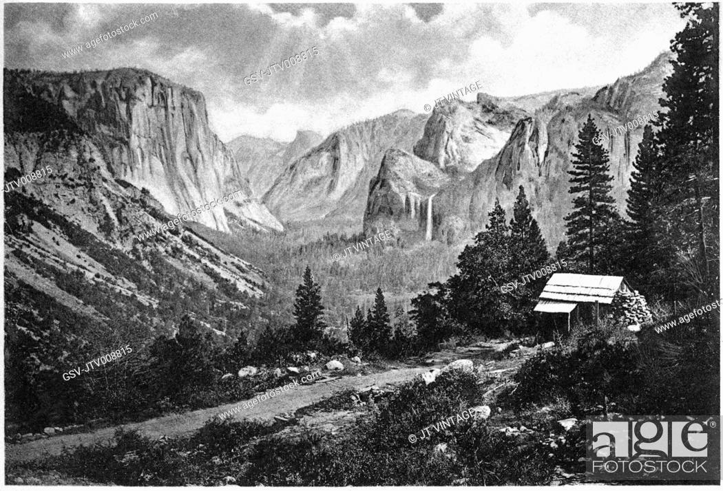Imagen: Yosemite, valley, landscape, California, historical,.