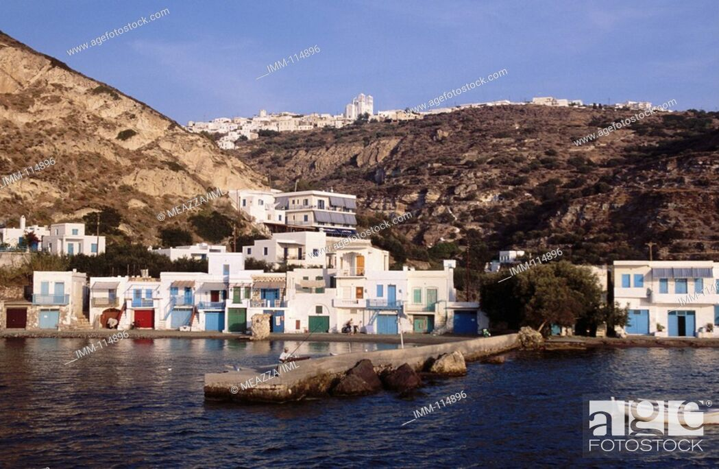 Photo de stock: Cyclades, Milos, Klima.