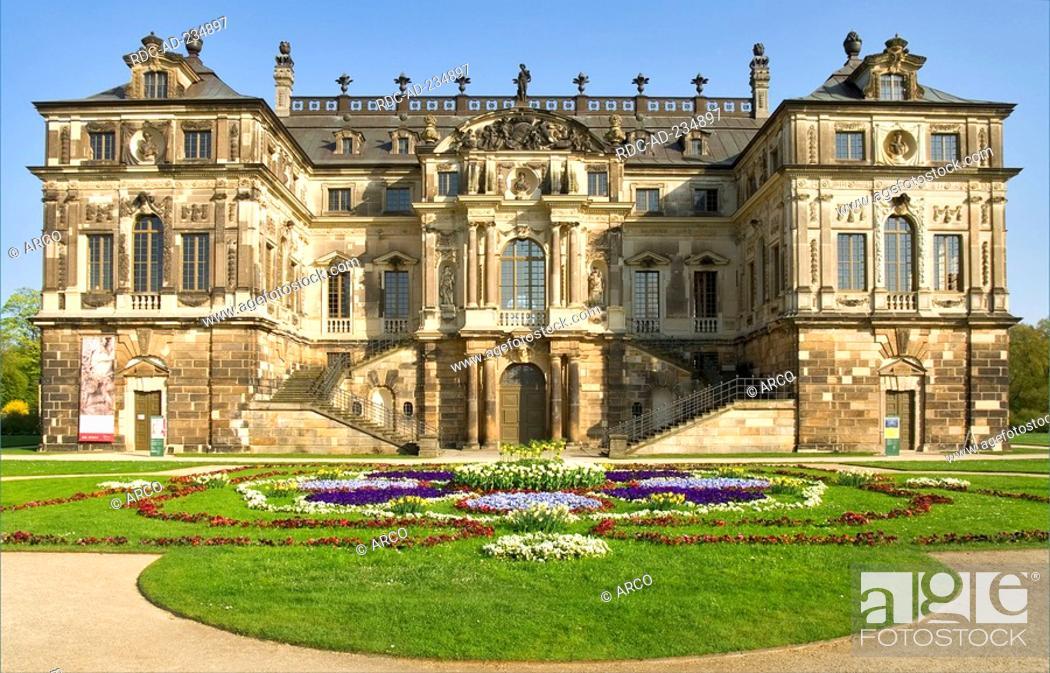 Palais Great Garden Dresden Saxony Germany Grosser Garten