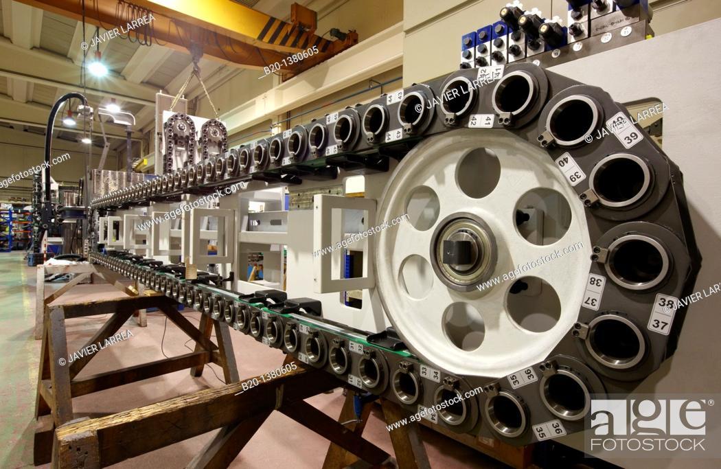 Stock Photo: ATC (Automatic Tool Changer), Bizkaia, Euskadi, Spain.