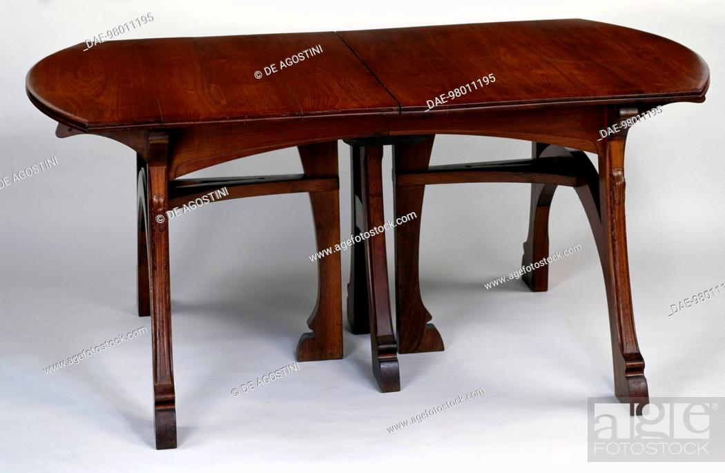 Art Nouveau Style Rectangular Extending Table 1897 1900 Part Of A