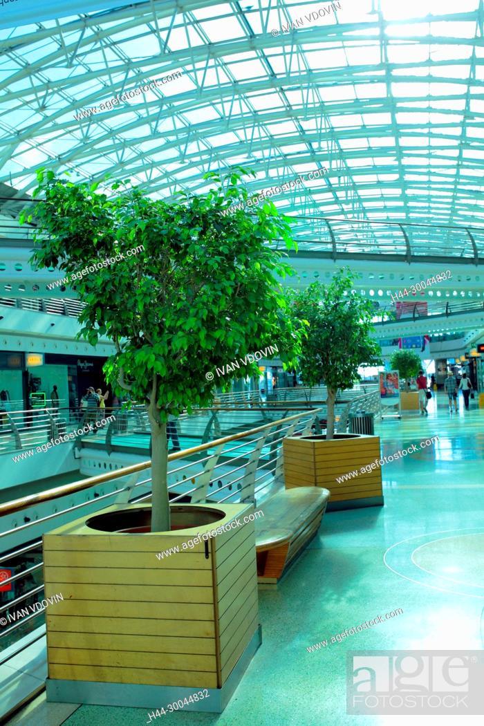 Stock Photo: Vasco da Gama shopping mall, Lisbon, Portugal.