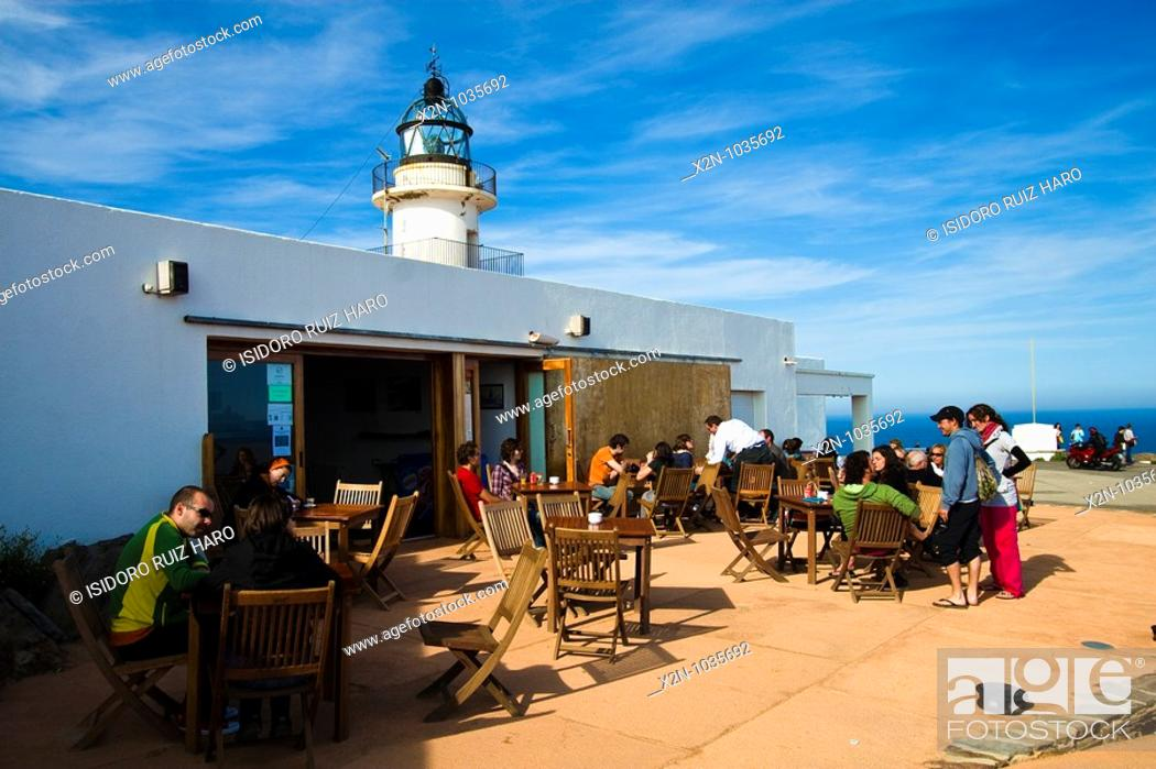 Terrazas Del Bar Y Restaurante Del Faro De Cap De Creus Alt