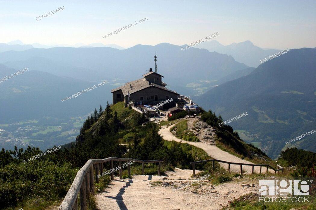 Photo de stock: Kehlsteinhaus im Berchtesgadener Land.