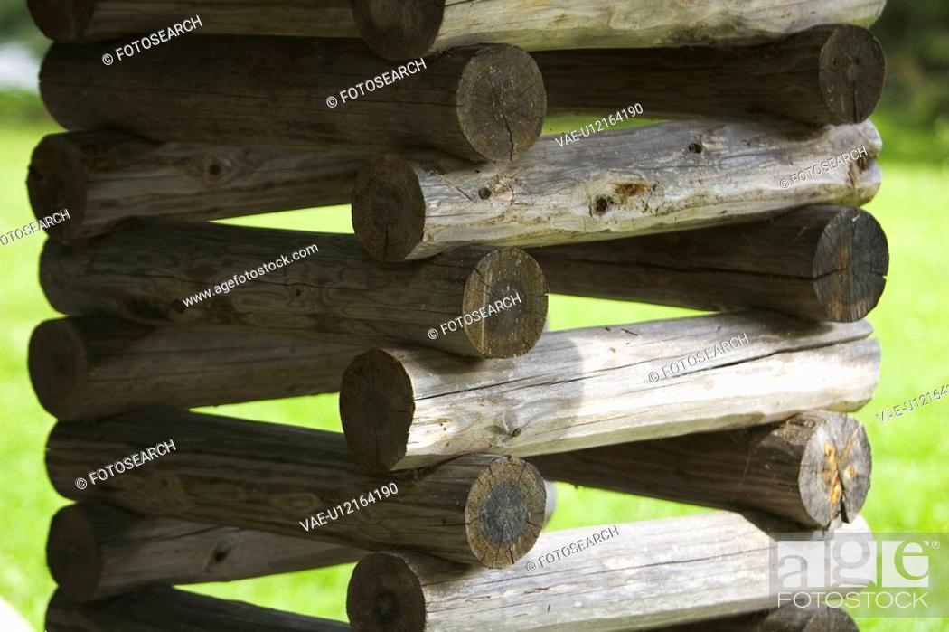 Stock Photo: Building Material, Grass, Day, Close-Up, Arrangement.
