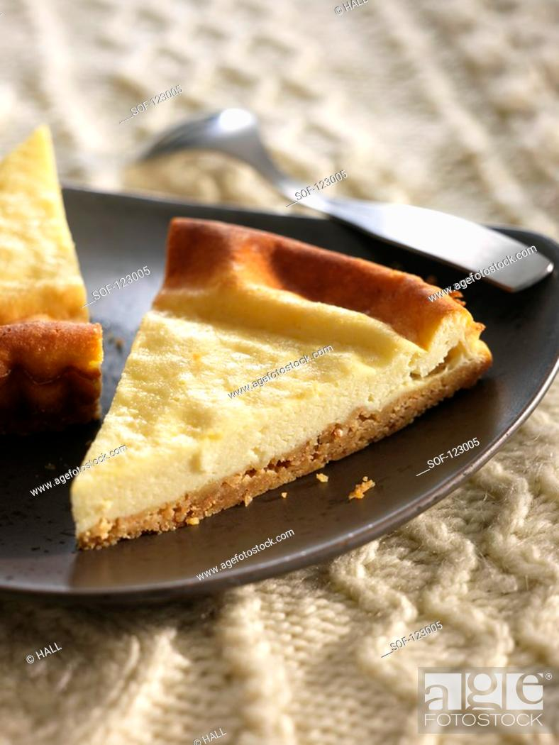 Stock Photo: Cheesecake.