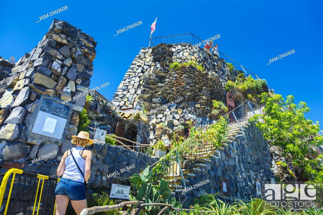 Stock Photo: Sao Jose fort. Principality of Pontinha. Funchal. Madeira, Portugal, Europa.
