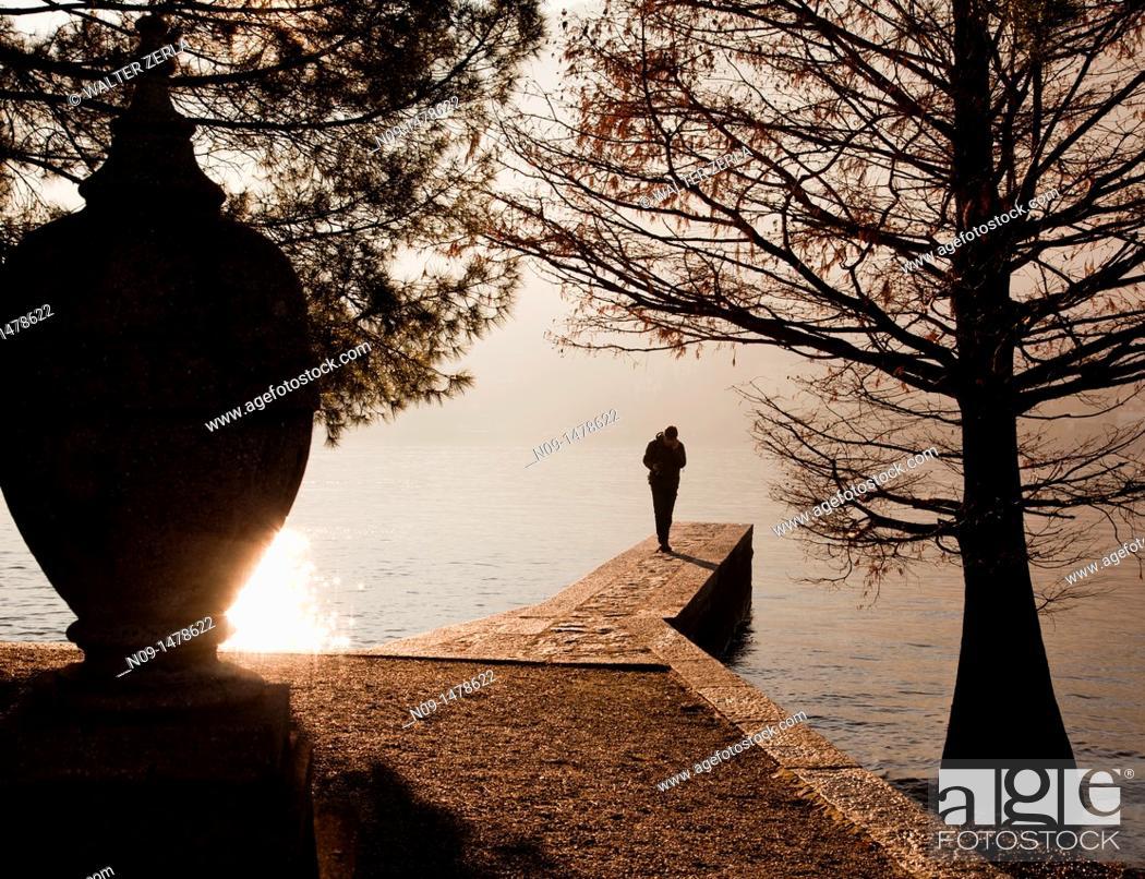 Stock Photo: Lake Maggiore, italy.