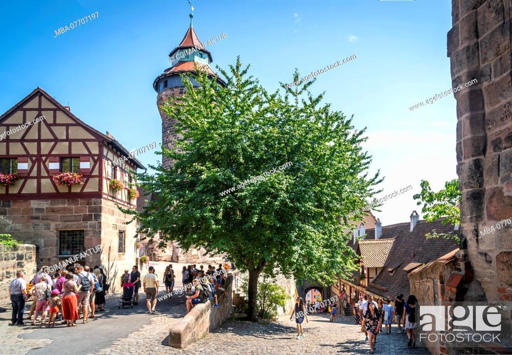 Stock Photo: Nuremberg, Nuremberg Castle.