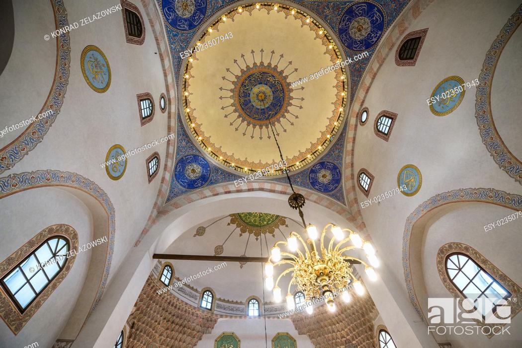 Stock Photo: Gazi Husrev-beg Mosque in Sarajevo, Bosnia and Herzegovina.