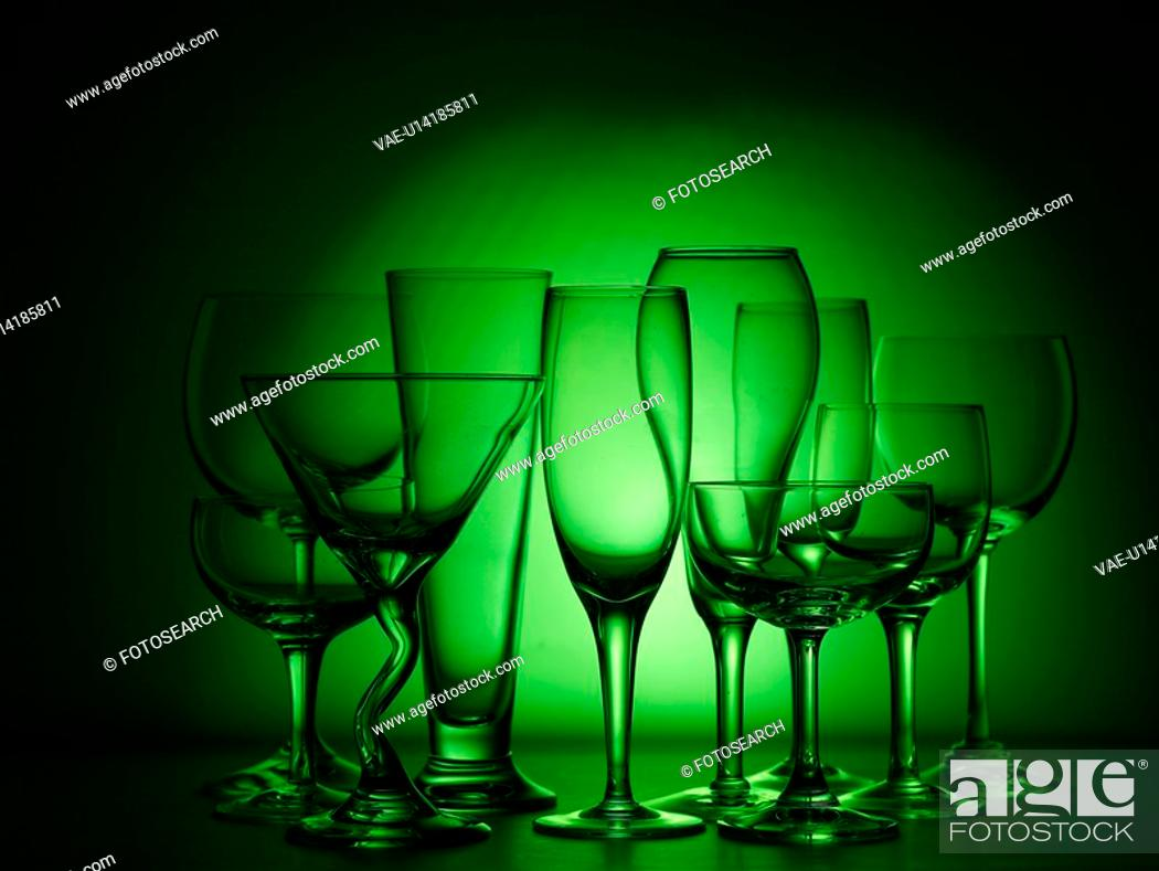 Stock Photo: house item, wine glass, artifact, object, champagne glass, glass.