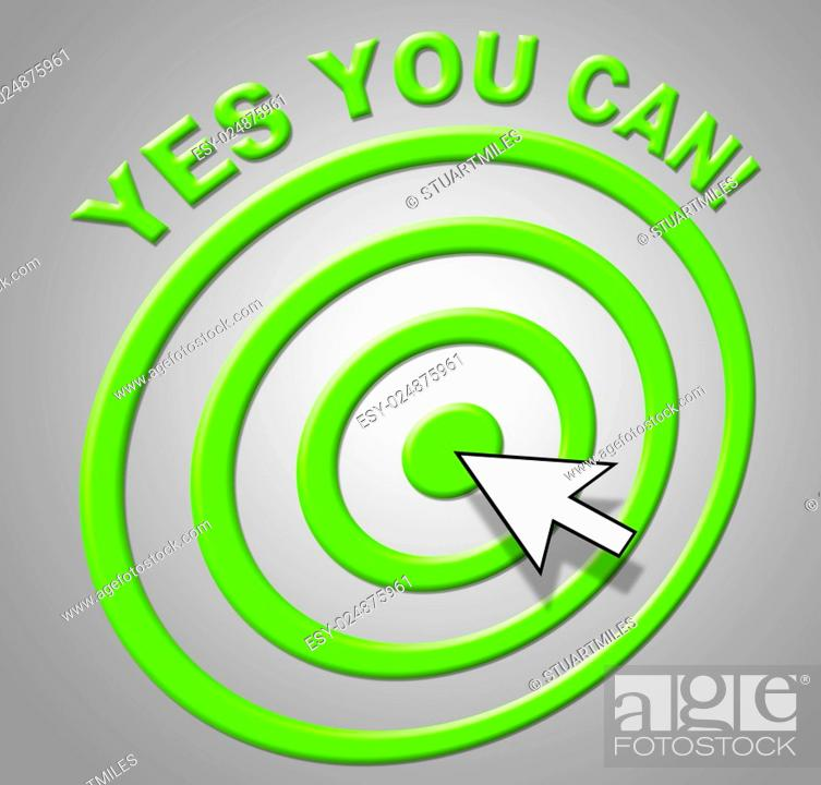 Imagen: Yes You Can Meaning All Right And O.K.
