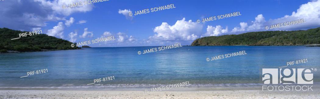 Stock Photo: Saltpond Bay US Virgin Islands.