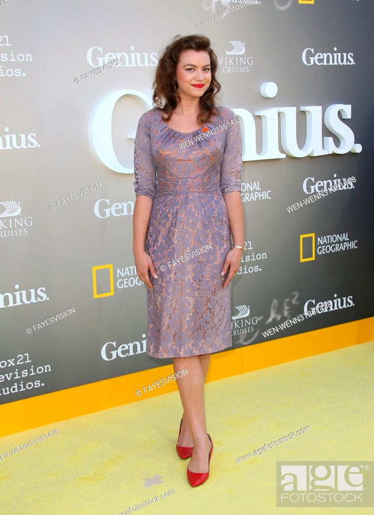 National Geographic S Premiere Screening Of Genius Featuring