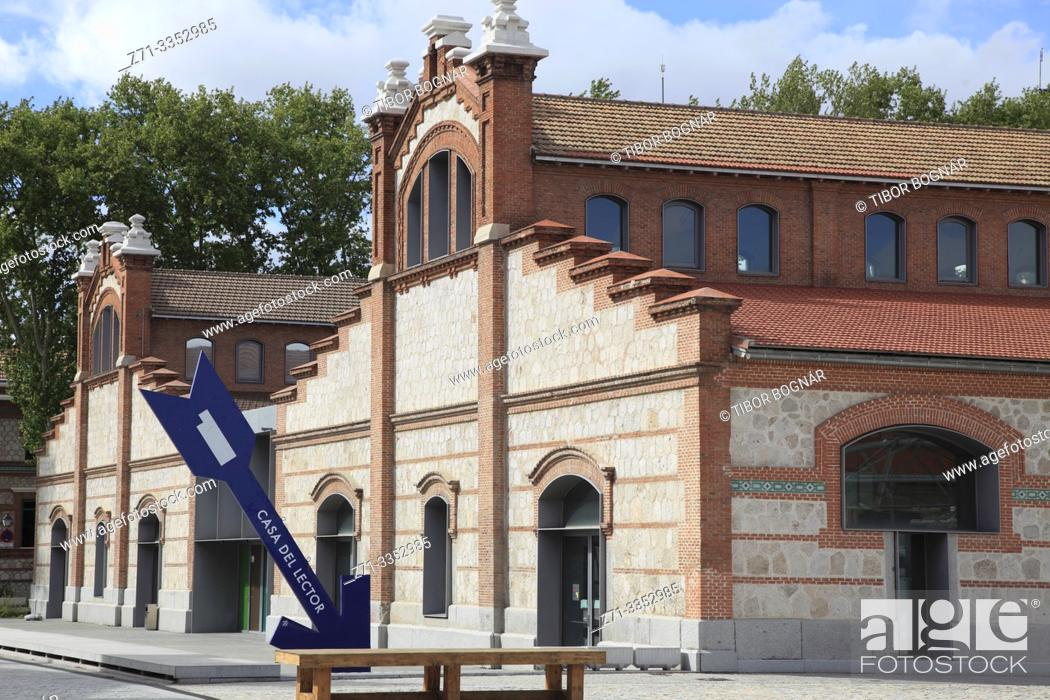 Stock Photo: Spain, Madrid, Matadero, arts centre, former slaughterhouse, .