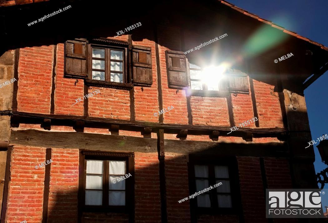 Stock Photo: House of Ituren. Navarre. Spain.