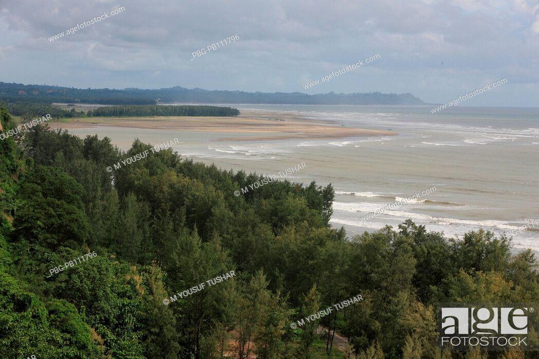 Imagen: the worlds longest stretch of uninterrupted beach has made Coxs Bazar, a popular tourist spot Bangladesh.