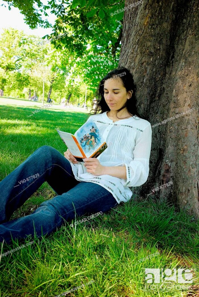 Stock Photo: -Reading & Pleasure-.