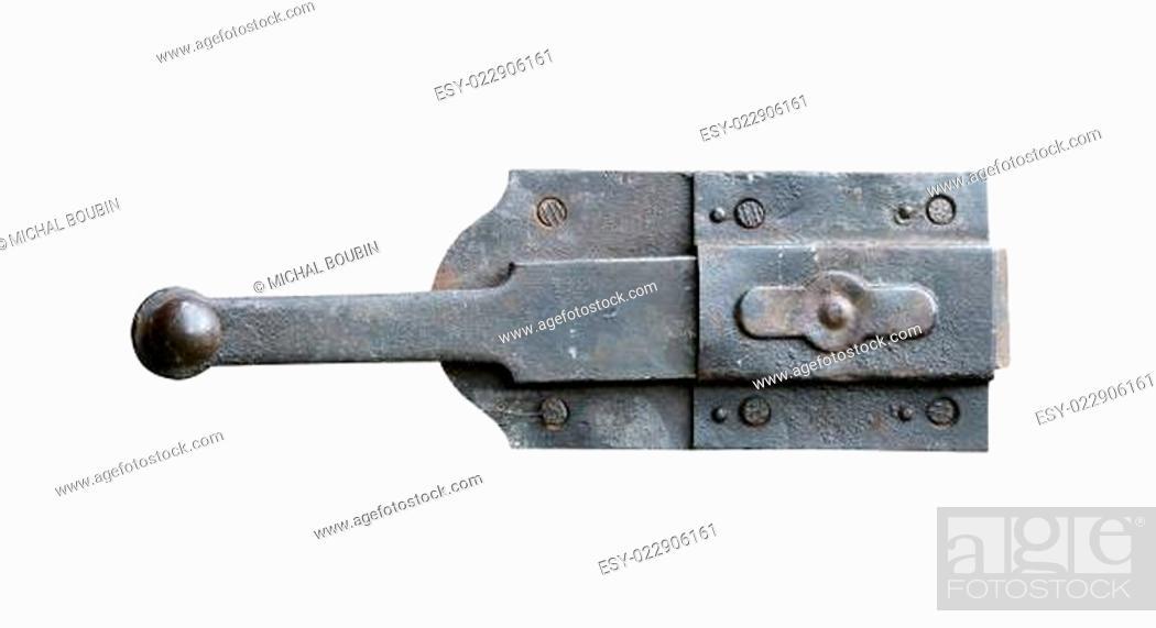 Photo de stock: old latch.