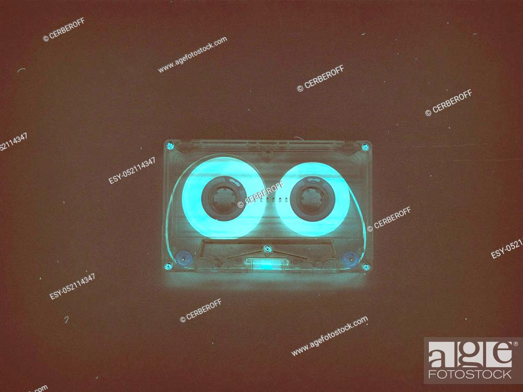 Audio Cassettes For Recorder 80s 90s 70s Retro Vintage Old